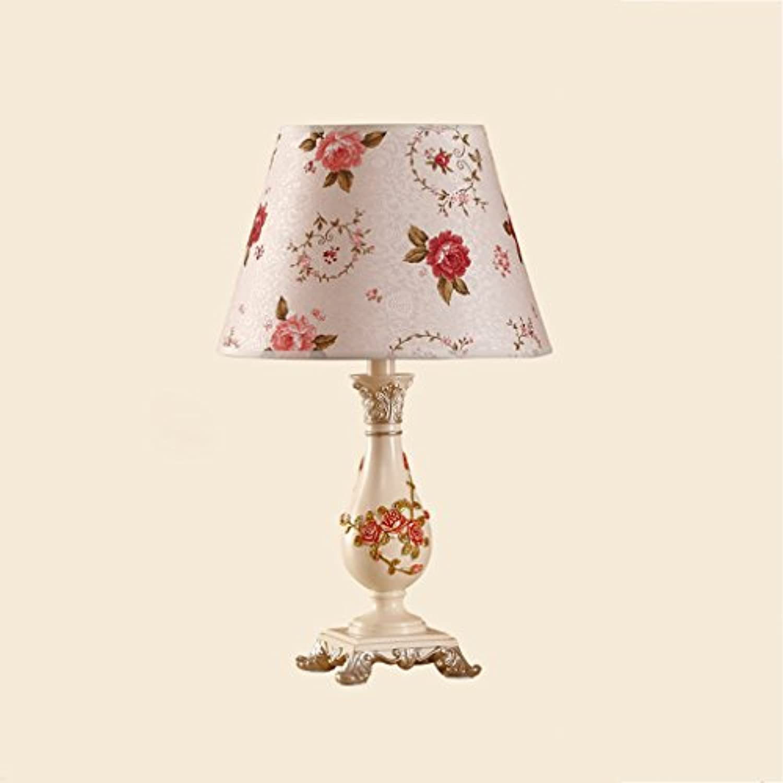 Europische Pastoralen Harz Schreibtischlampe Kreative Romantische Hochzeit Schlafzimmer Nachttisch Gravur Tischlampe E27  1