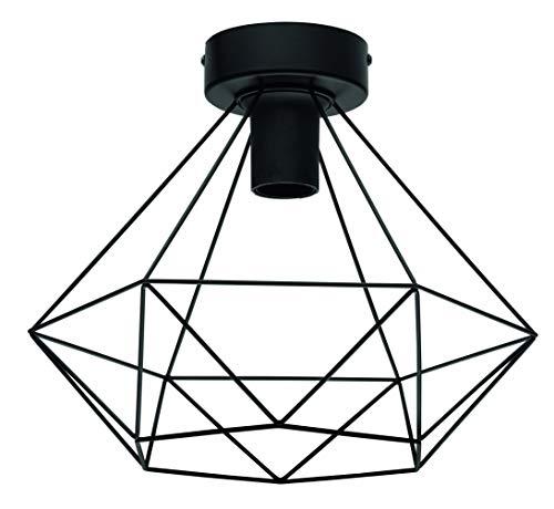 INSPIRE BYRON - Lámpara de techo (metal, diámetro de 32,5 cm)