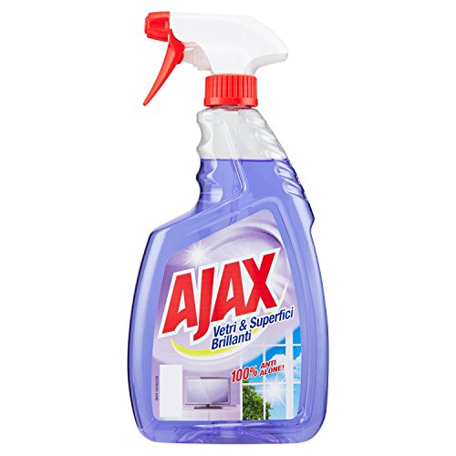 Ajax Spray per Vetri e Superfici Brillanti - 750 ml