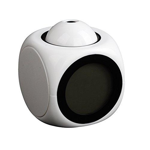 CursOnline® Despertador Parlante Lingua Italiana con proyector a techo Dell'Ora y temperatura...