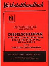 McCormick Ersatzteilliste Dieselschlepper Standard D324 Traktor Ersatzteilliste