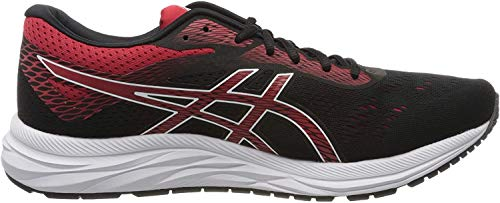 ASICS Men's Gel-Excite 6 Running Shoes, 9M, Black/Speed RED