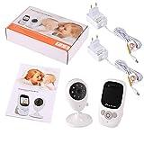 BIU Baby-Monitor, drahtlose Kamera-Infrarot-Nachtsicht Chiffrierungsübertragung HD Display Zweiwegwechselsprechanlagefunktion Anti-WiFi-Interferenz,Eu