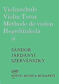 Violin Tutor Volume 3