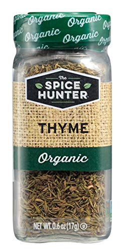 The Spice Hunter Thyme, Organic, 0.6-Ounce Jar
