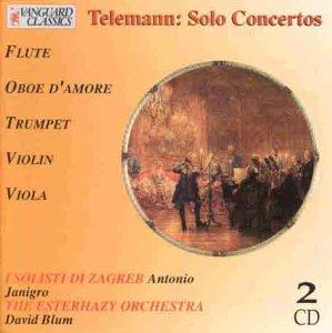 The Classical Connoisseur - Telemann (Solokonzerte)