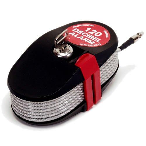 Lockalarm 6796-2,4m langes abschließbares Kabel mit integriertem Alarm