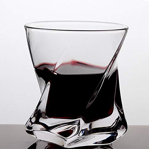 HUALUDA Vaso De Whisky Espesado Transparente Comercial Vaso De Agua Vaso De Cristal Vaso De Vino Extranjero 150ml (Color : Clear)