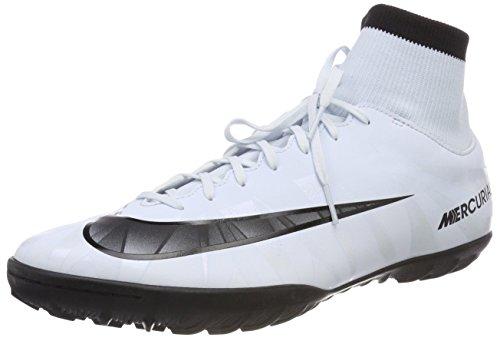 Nike Herren MercurialX Victory VI CR7 DF TF Fußballschuhe, Blau (Blauton/Schwarz-Weiß-Blauton 401), 45.5 EU