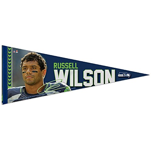 Wincraft NFL Seattle Seahawks - Russell Wilson #3 Premium Wimpel