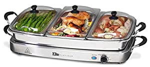 Elite Platinum EWM-9933 Maxi-Matic Buffet Server