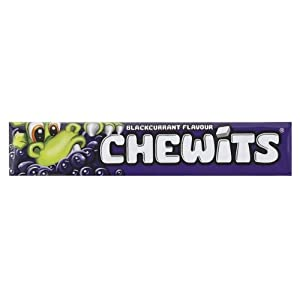 chewits blackcurrant flavour (pack of 40) Chewits Blackcurrant Flavour (Pack of 40) 41GCP282JyL