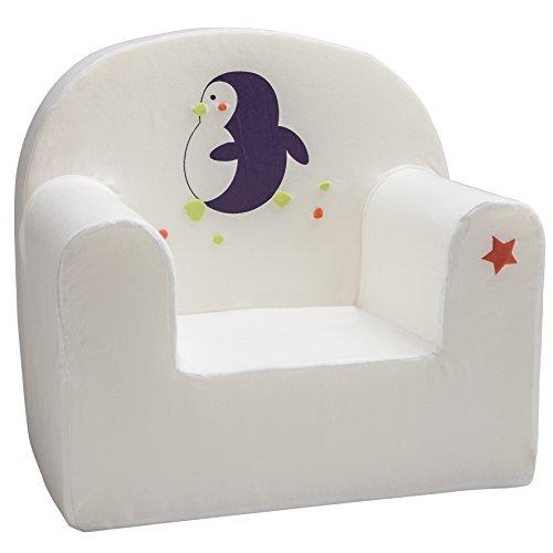 Babycalin Fauteuil Droit Pingouin Assise 25 cm