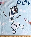 Vorgeschnittener Fleece-Stoff, 1,5 m – Frozen Olaf auf