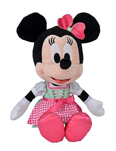 Simba 6315875755 Disney Minnie im Dirndl, Neu, 25 cm, grün