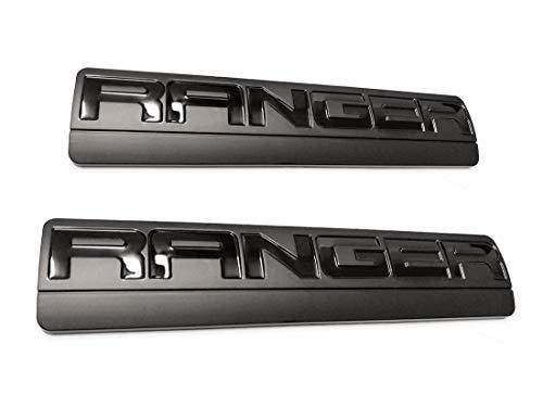 2x Black RANGER Emblems, 3D Badge Fender Replacement for F150 F250 2006-2011