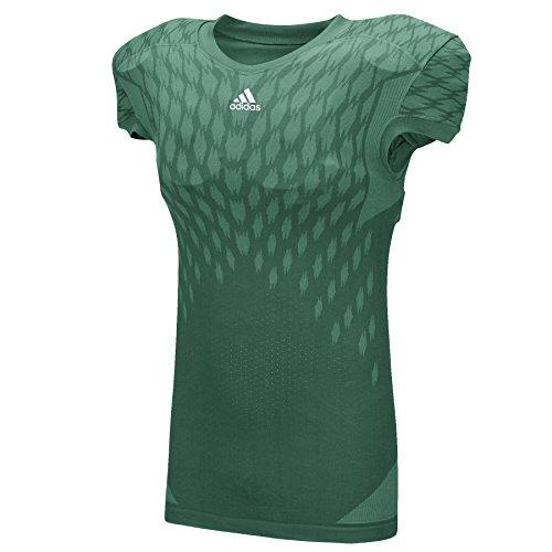 Adidas Mens Techfit Primeknit Football Jersey L Dark Green