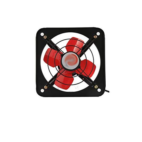 LANDUA Extractor de ventilación Industrial Potente, Extractor axial de Metal, Ventilador Comercial para Cocina, Dormitorio