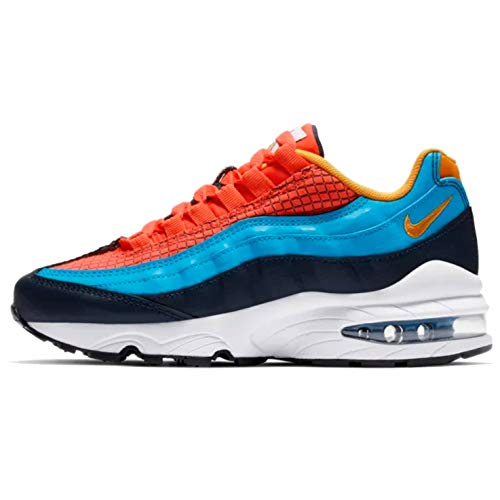 Price comparison product image Nike Air Max 95 Now Kids Big Kids Av2289-600 Size 6