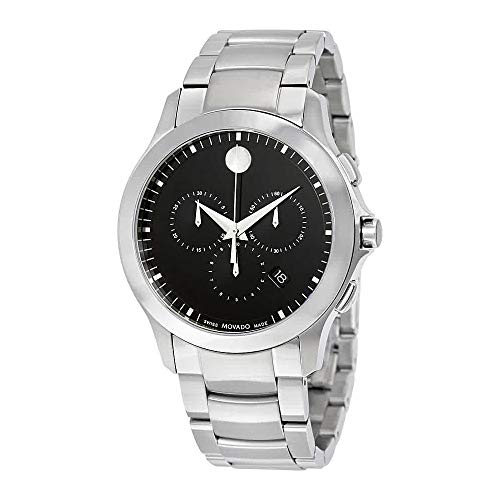 Movado Masino stainless Steel Chronograph Mens Watch 0607037