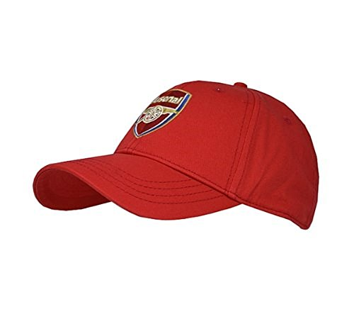 Football Team Baseball Cap (Various Teams om uit te kiezen - alle komen met officiële Club Shop Tags), Mannen, Arsenal (Red Core)