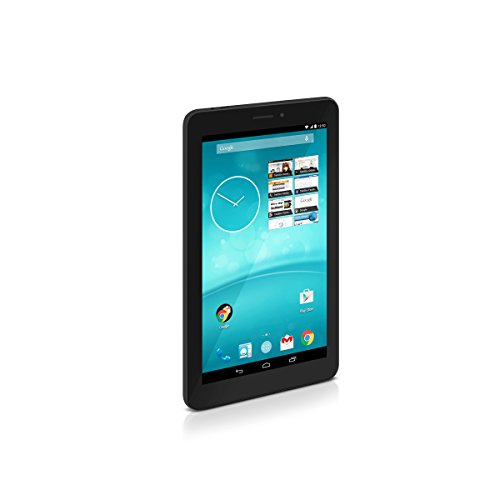 TrekStor SurfTab breeze 7.0 quad 3G, 17,78 cm (7 Zoll Android-Tablet), Touch-Display (IPS), Quad-Core, 512 MB RAM, 8 GB Speicher, WiFi, 3G, Android 4.4.2, schwarz
