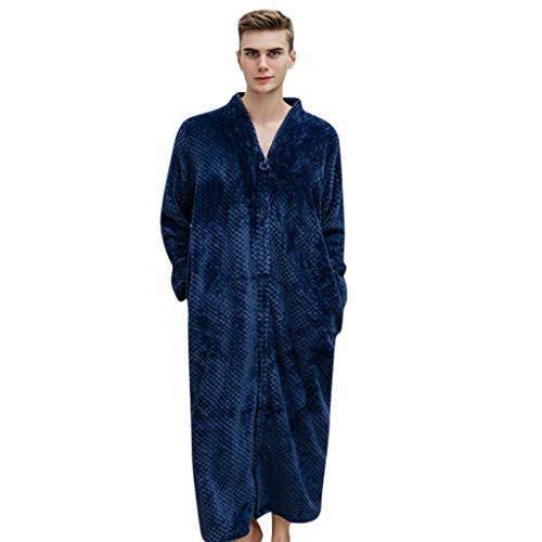 LianMengMVP Peignoir à Capuche en Polaire de Corail Très Doux pour Couple Homme et Femme pour Sauna Microfibre Vêtements de Nuit