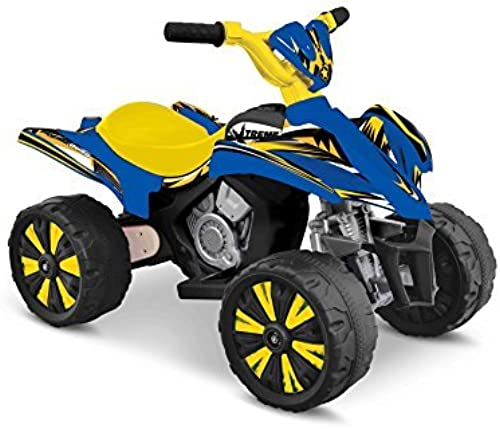 Enfant Motorz Xtreme Quad 6V Vehicle, bleu & jaune by Enfant Motorz