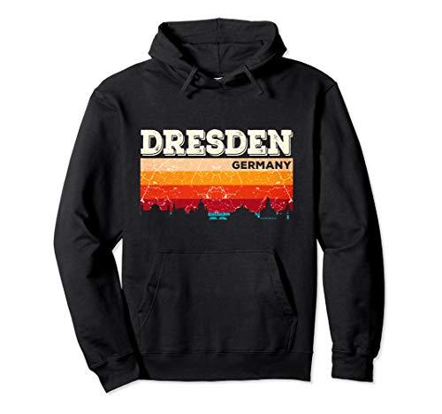 Mein Dresden Skyline Deutschland Heimat Stadt Souvenir Pullover Hoodie