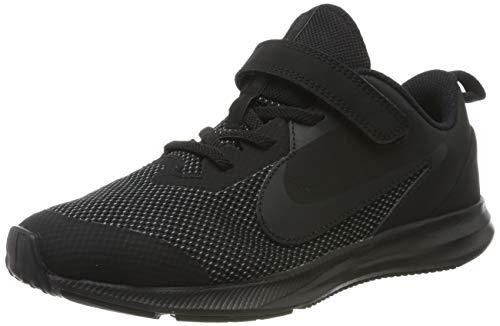 Nike Jungen Unisex-Kinder Downshifter 9 (PSV) Leichtathletikschuhe, Schwarz (Black/Black/Anthracite 000), 28 EU