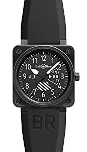 Bell & Ross Aviation BR01 Mens Limited Edition Watch Br01-Altimeter Reviews and Reviews and review