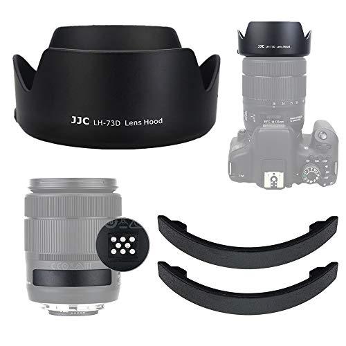 JJC Paraluce Reversibile Dedicato con Copriobiettivo Coperchio di Protezione per Canon EF-S 18-135mm f/3.5-5.6 IS USM, RF 24-105mm F4-7.1 IS STM Obiettivo Sostituzione Canon EW-73D
