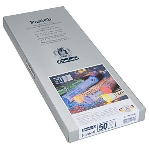Schmincke 77 763 097 - Caja de cartón con 50 lápices pastel