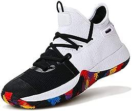 WETIKE Boys Basketball Shoes Non Slip Basketball Shoes for Boys Lightweight Girls Basketball Shoes Breathable Kids Basketball Shoes Durable Boys Shoes