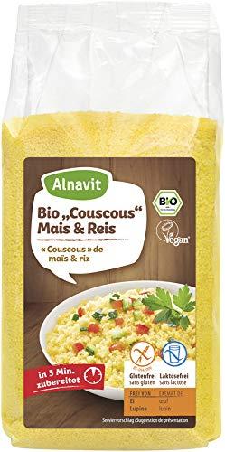 Alnavit Couscous Mais & Reis bio 375g