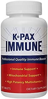 Physician Formulated K-PAX Immune with High Potency Mitochondrial Nutrients - Immune Boosting Multivitamin - Supports Immu...