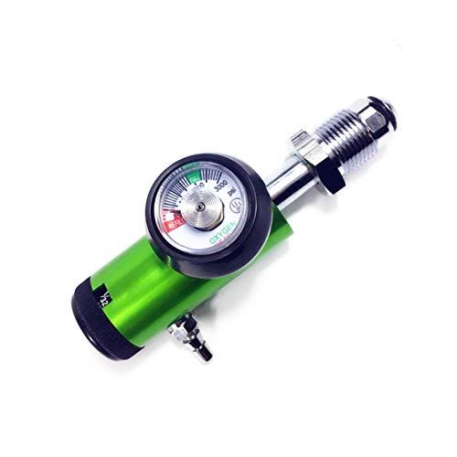 XIAOFANG Ossigeno Standard Regolatore Bull Nose l'ossigeno Cilindro Regolatore di Flusso, O2 Bombola di Ossigeno Regolatore 0-4LPM