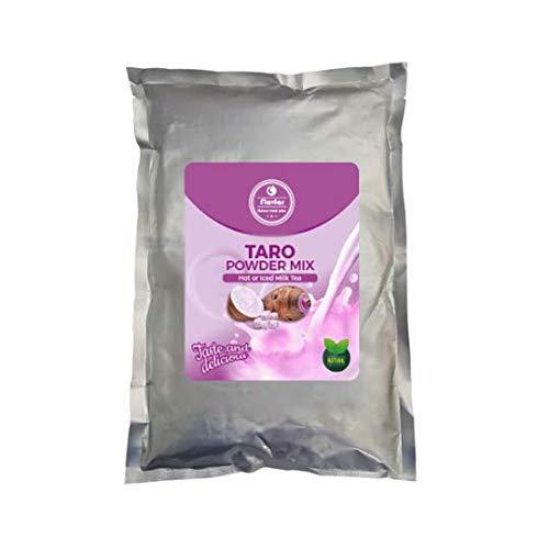 Flavfar Taro Bubble Tea Powder I Global Chain Store Designated Instant Taro Powder Bubble Tea or Smoothie Mix | Non-Dairy I 2.2 Pound