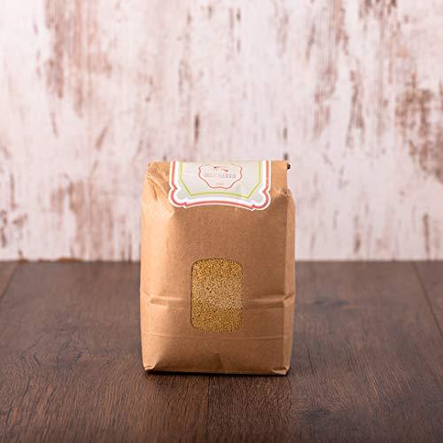 süssundclever.de® Bio Couscous | Vollkorn | Hartweizenvollkorngrieß | aus Italien | 2 x 1 kg | unbehandelt | plastikfrei und ökologisch-nachhaltig abgepackt