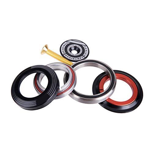 MOVKZACV Fahrrad-Headset-Kugellager, 1 Set Mountainbike-Frontgabel-Lager Zubehör, 42 52 mm Fahrrad-Frontgabel-Headset, konische Schläuche, Fahrrad-Headset-Zubehör