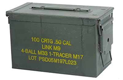 U.S. Military Surplus .50 caliber Ammo Cans
