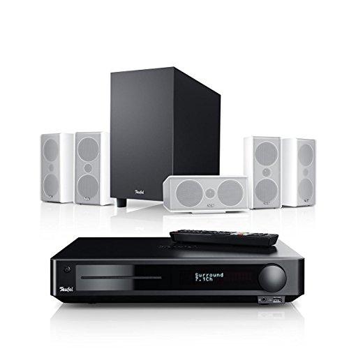 Teufel Consono 35 Impaq 5.1-Set Weiß Heimkino Lautsprecher 5.1 Soundanlage Kino Raumklang Surround Subwoofer Movie High-End HiFi Speaker
