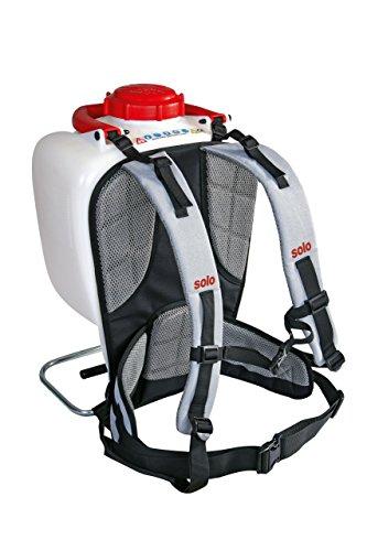 Solo 49599 Rückentragesystem Pro für Rückenspritzen, Grau, 51 x 31 x 8 cm