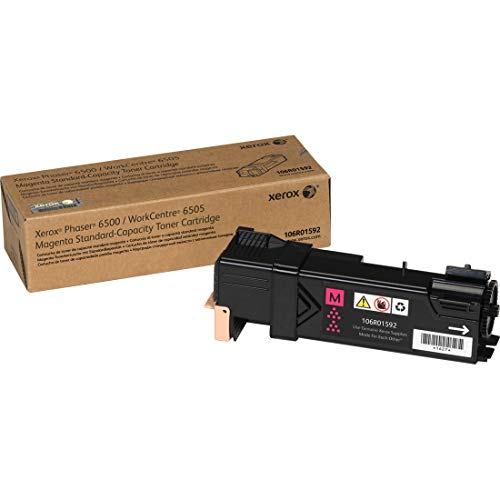 Xerox Phaser 6500/ WorkCentre 6505 Magenta Standard Capacity Toner Cartridge (1,000 Pages) - 106R01592