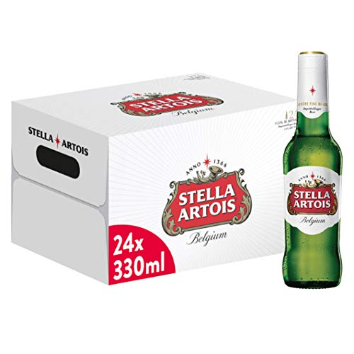 Stella Artois Birra - Pacco da 24 x 330 ml, 7.92