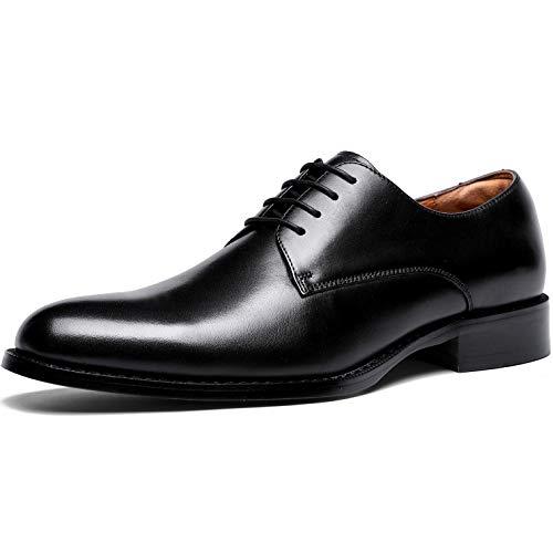 [フォクスセンス] ビジネスシューズ 本革 革靴 紳士靴 メンズ ドレスシューズ 本革 プレーントゥ 外羽根 ブ...