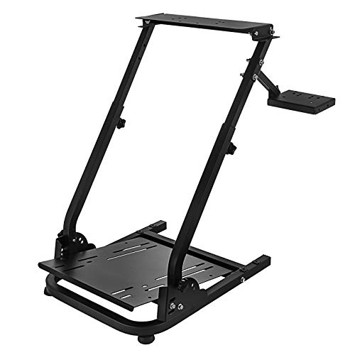 Smarketbuy Racing Wheel Stand Height Adjustable Driving Simulator Cockpit Compatible with Logitech G25, G27, G29, G920 Gaming Cockpit (G920)