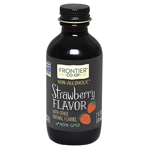Frontier Natural Products Strawberry Flavor A/F, 2-Ounce