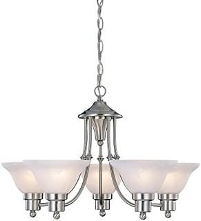 hardware house 544452 bristol 5 light chandelier