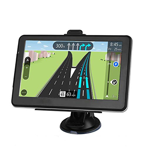 GPS Navigation for car The Latest Map of North America 7-inch Display 256MB-8GB Real Voice Broadcast Route (Free Update Map for Life)